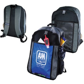 Promotional Color Block Back Pack