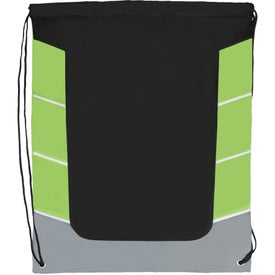 Color Block Drawstring Backpack for Your Church