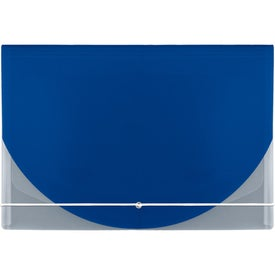 Company Color Flap Translucent Document Holder