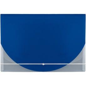 Company Color Flap Translucent Document Holder