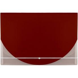 Color Flap Translucent Document Holder for Marketing