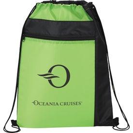 Color Pop Drawstring Sportspack Bag