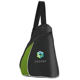 Color Splash Side Sling Pack for Your Company