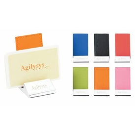 Colorplay Leather Business Card Holder
