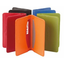 Colorplay Leather Slim Card Case