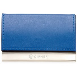 Magnetic Closure Colorplay Leather Card Case for Your Church