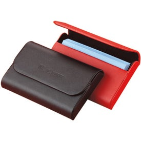 Colorplay Leather Hardcase Card Holder for Your Company