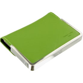 Logo Colorplay Leather Business Card Case