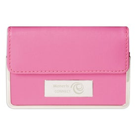 Colorplay Leather Business Card Case for Marketing