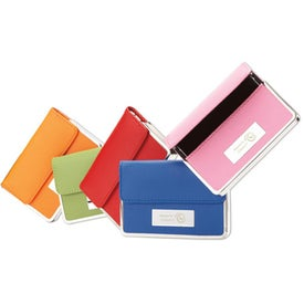 "Colorplay Leather Business Card Case (4"" x 2 3/4"")"