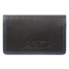 Personalized Colorplay Leather Card Case