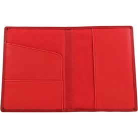 Colorplay Leather Travel Wallet for Advertising