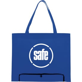 Compact Zipper Folding Tote Bag