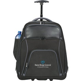 Connect Wheeled Compu-Backpack with Your Slogan