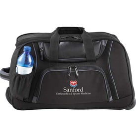 Connect Wheeled Duffel Bag Printed with Your Logo