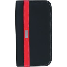 Personalized Contemporary Travel Wallet with Zipper