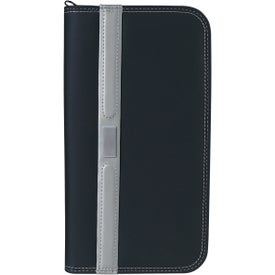 Contemporary Travel Wallet with Zipper Branded with Your Logo