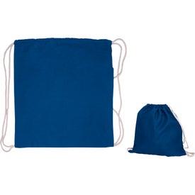 Custom Cotton Drawstring Backpack