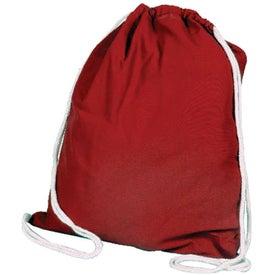 Printed Cotton Drawstring Bag