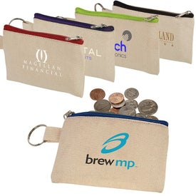 Cotton ID Holder and Coin Pouches