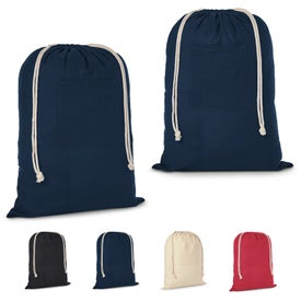 Cotton Laundry Bag (Colors)
