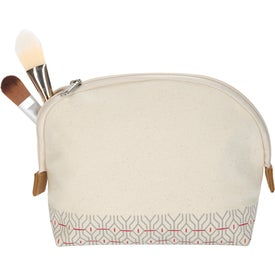 Countryside Cotton Cosmetic Bag