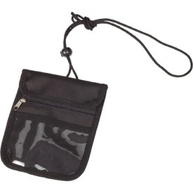 Credential Holder with Zipper Pocket for Your Organization