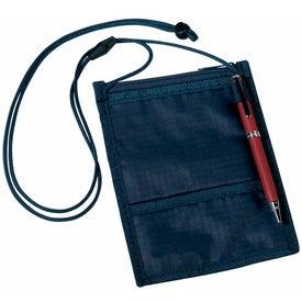 Promotional Crystal-Line Neck Wallet