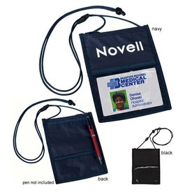 Crystal-Line Neck Wallet