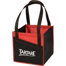 Cube Non-Woven Utility Tote Bags