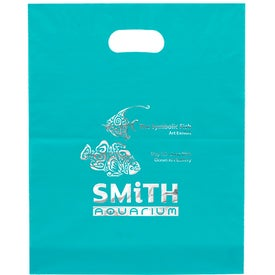 Promotional Cupid Frosted Brite Die Cut Bag