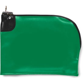 Curved Night Deposit Bag EV 10.5 x 9 Branded with Your Logo