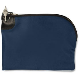 Personalized Curved Night Deposit Bag LN 12 x 10