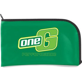 Curved Zipper Bag EV Branded with Your Logo