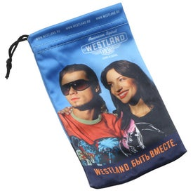 Custom Microfiber Gadget Bag Large (Digitally Printed)