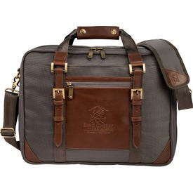 "Cutter and Buck Bainbridge 15"" Computer Briefcase"