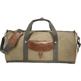 Cutter and Buck Legacy Cotton Roll Duffel Bag Printed with Your Logo