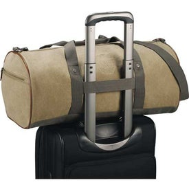 Cutter and Buck Legacy Cotton Roll Duffel Bag for your School