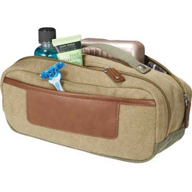 Imprinted Cutter and Buck Legacy Dopp Kit