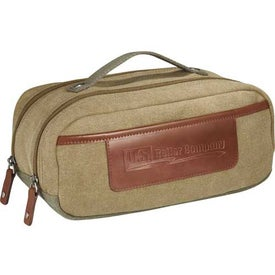 Customized Cutter and Buck Legacy Dopp Kit