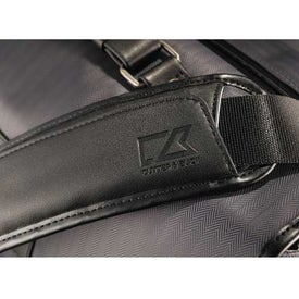Branded Cutter and Buck Pacific TSA-Friendly Messenger Bag