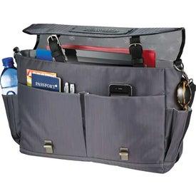Logo Cutter and Buck Pacific TSA-Friendly Messenger Bag