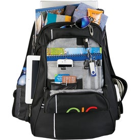 Advertising Cutter & Buck Tour Checkpoint-Friendly Backpack
