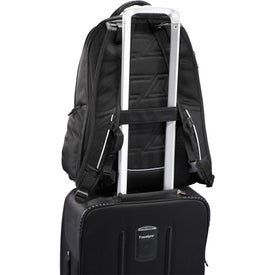 Personalized Cutter & Buck Tour Checkpoint-Friendly Backpack