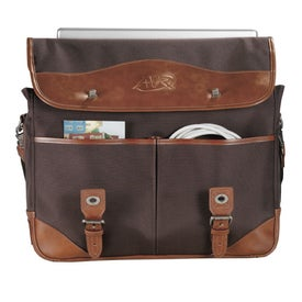 Customized Cutter and Buck Legacy Security Friendly Compu Messenger