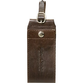 Cutter and Buck American Classic Leather ID Tag