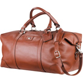 Cutter and Buck Leather Weekender Duffel
