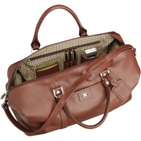 Cutter and Buck Leather Weekender Duffel for Your Organization