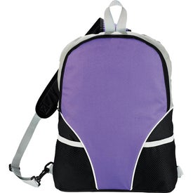 Imprinted Cyclone Sling Backpack