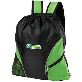 Cyclone Cinch Backpack for Promotion